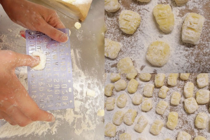 Spe(a)king gnocchi